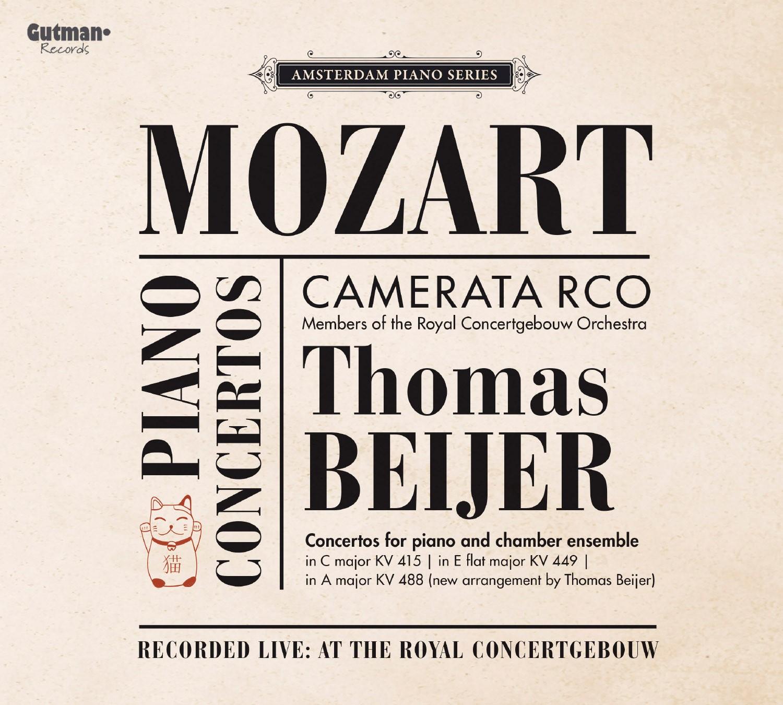 Thomas Beijer, Camerata RCO Geen Jalapeños: Mozart